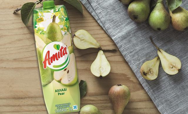 Νέα Amita αχλάδι: απόλαυση στο ποτήρι