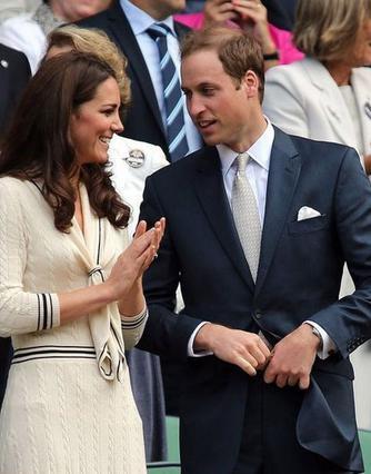 Η Κέιτ αλλά και ο πρίγκιπας Γουίλιαμ είναι λάτρεις του τένις και παρακολουθούν τους αγώνες από τις πρώτες σειρές των καθισμάτων στο Γουίμπλεντον.