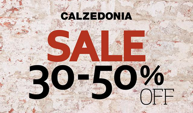 CALZEDONIA: It's sale time