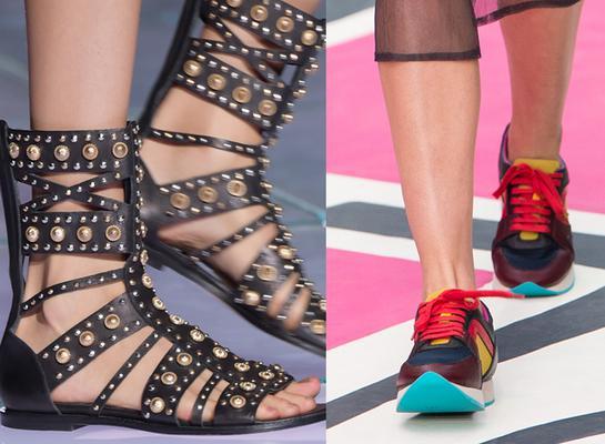 <p>Gladiator, αθλητικά, πλατφόρμες, ασυνήθιστα σχέδια και πολλά άλλα τα τρεντ που θα λατρέψεις στα παπούτσια!</p>