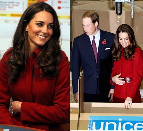Μήπως κάτι θέλει να μας πει η Κέιτ; Πολύ  προστατευτική  ήταν με την κοιλίτσα της η σύζυγος του πρίγκιπα Γουίλιαμ κατά τη διάρκεια του πρόσφατου επίσημου ταξιδιού τους στη Δανία.