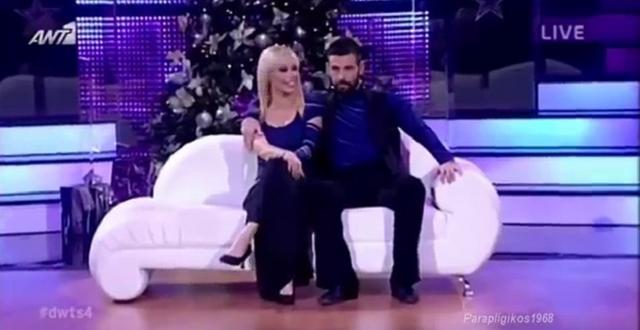 Dancing: Η τούμπα του Μιχάλη Μουρούτσου (Βίντεο)