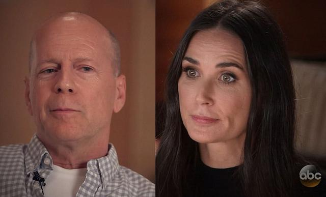 Η Ντέμι Μουρ μιλά για το διαζύγιο με τον Μπρους Γουίλις