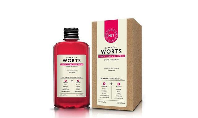 Worts: το φυσικό σιρόπι υγείας και ομορφιάς