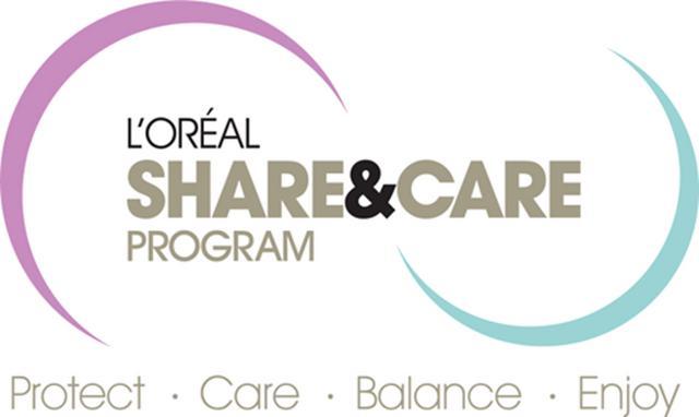 Το παγκόσμιο κοινωνικό πρόγραμμα   Share & Care  της L'Oreal
