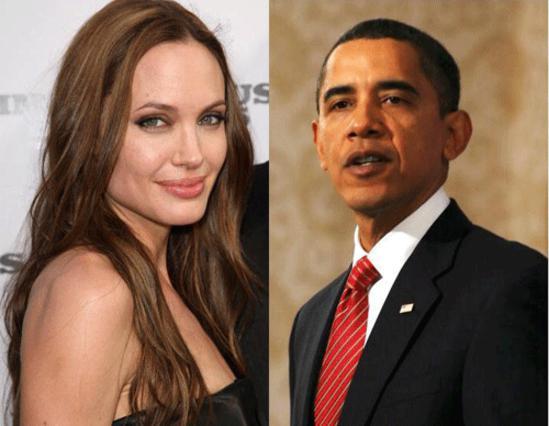 Όταν μιλούν για τον Ομπάμα, καυγάδες ξεσπούν στο σπίτι τον Μπραντζελίνα!