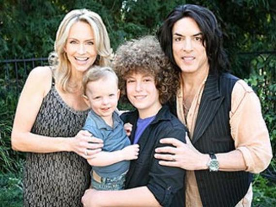 Η οικογένεια Στάνλεϊ με τα δύο μεγαλύτερα παιδιά της.