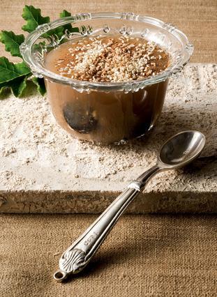 Κρέμα μουσταλευριάς με πετιμέζι