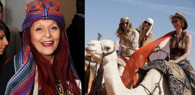 Ακόμα και πάνω στις καμήλες, η Πατρίσια βρήκε τρόπο να ντύσει με στιλ τα κορίτσια του  Sex and the City 2