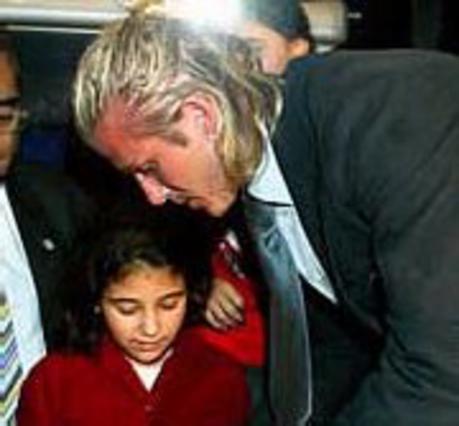 Ο Μπέκαμ, το κοριτσάκι και η τούρκικη αστυνομία!