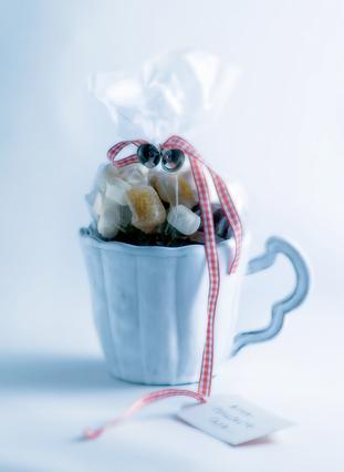 Κούπα με ρόφημα για αρωματική σοκολάτα