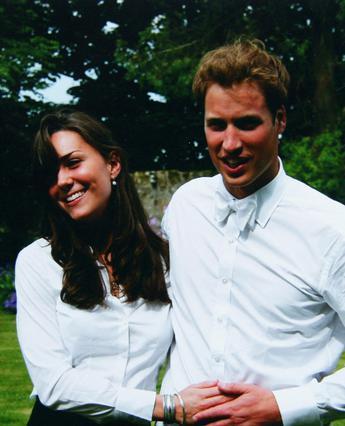 Η Κέιτ και ο Γουίλιαμ τον πρώτο καιρό της γνωριμίας τους πριν από οκτώ χρόνια στο πανεπιστήμιο Σεντ Άντριους.