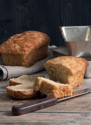 Ψωμί με καρότο και μπαχαρικά