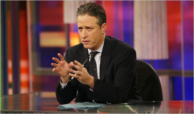 Ο Τζον Στιούαρτ του  Daily Show