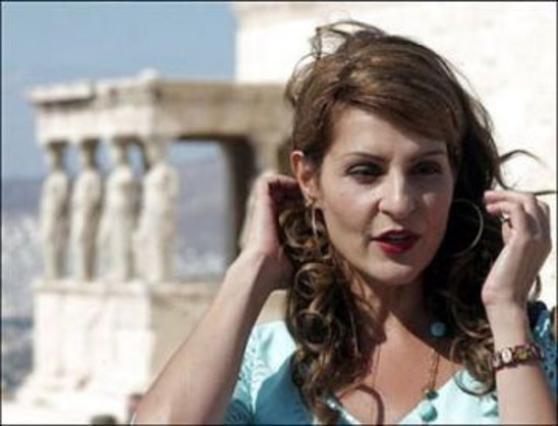 Η Βαρντάλος στην ταινία  Έρωτας αλά Ελληνικά .