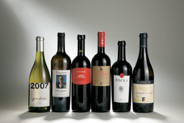 Τα κρασιά της Σικελίας