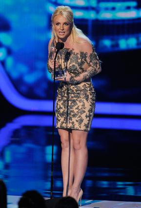 Το βραβείο του πιο αγαπημενου Ποπ Σταρ παρέλαβε η Μπρίτνεϊ Σπίαρς