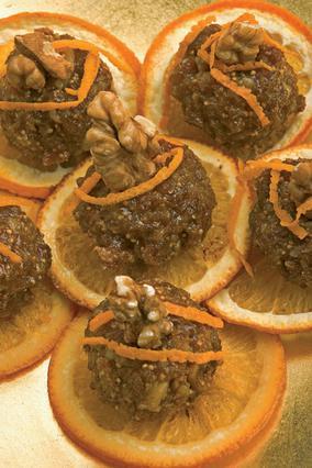 Καρυδάτα με πορτοκάλι