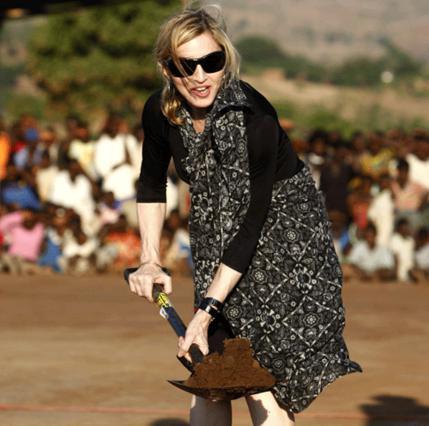 Φως θα δουν χάρη στη Μαντόνα οι κάτοικοι του Μαλάουι