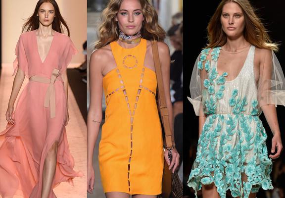 <p>To μπλε του βυθού, το γλυκό ροζ αλλά και το έντονο καναρινί είναι τα χρώματα εκείνα που σε βάζουν στην καρδιά της μόδας φέτος.</p>