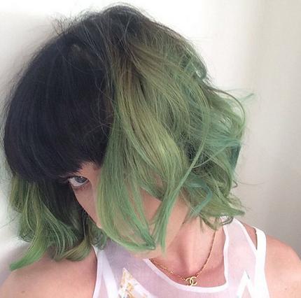 Πράσινα (!) μαλλιά για την Κέιτι Πέρι