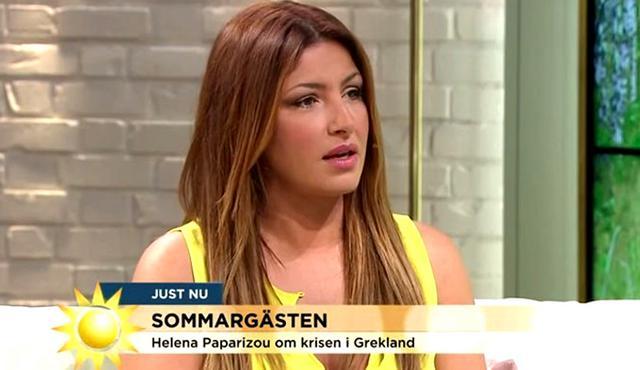 Παπαρίζου: Τι είπε για την Ελλάδα και τον διχασμό σε σουηδική εκπομπή [vds]