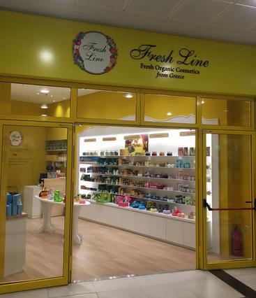 Νέο ανακαινισμένο κατάστημα FRESH LINE στο The Mall Athens