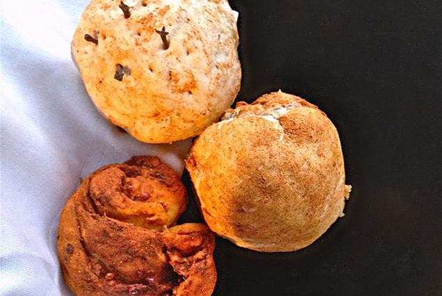 Ψωμάκια με τα όλα τους αλά Pandepani
