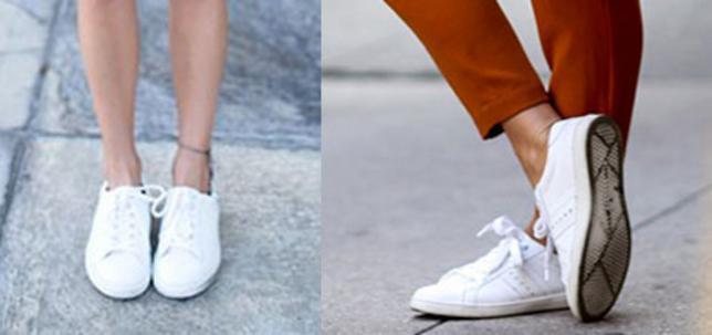 <p>Τα λευκά σου sneackers φοριούνται τέλεια αρκεί να ξέρεις τον τρόπο!</p>