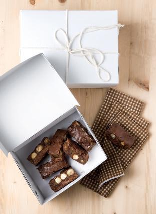 Σοκολατένιες μπάρες με φουντούκια