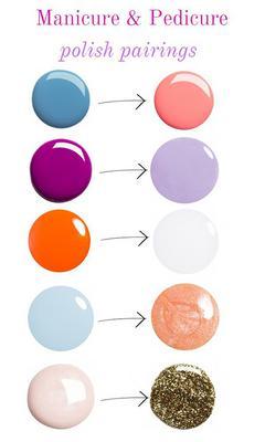 <p><br /> Μην ξεχνάς πως φέτος ΔΕΝ είναι της μόδας τα έντονα χρώματα στα νύχια αλλά τα παλ. Ότι παλ θες, ροζουλί, μπλεδάκι, πρασινάκι, κιτρινάκι, ένα μπεζονούντ και το λευκό του ασβέντη. Ναι, πάλι.</p
