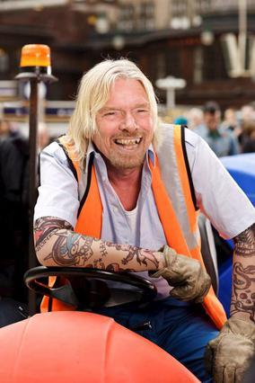Ο διάδοχος του αγώνα της Φάροου, ιδρυτής της Virgin, Ρίτσαρντ Μπράνσον