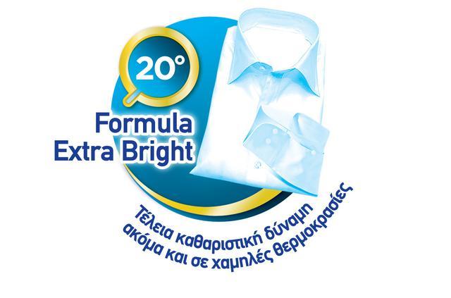 Dixan Extra Bright: Ανανεωμένο & με πιο δυνατή σύνθεση