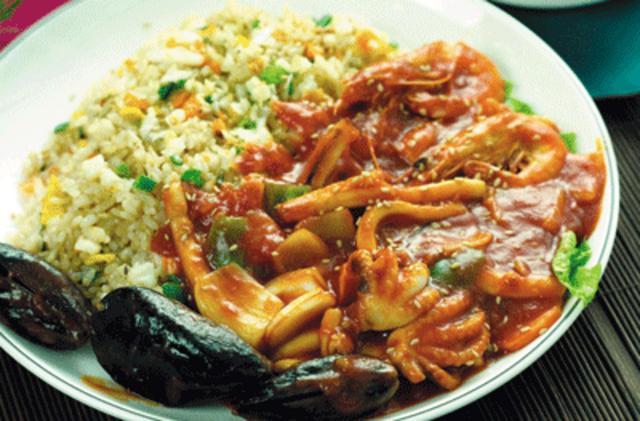 Ρύζι με θαλασσινά