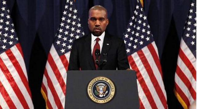 Υποψήφιος για πρόεδρος των ΗΠΑ ο Κάνιε Γουεστ - Παξιμάδι  η Κιμ (vds)