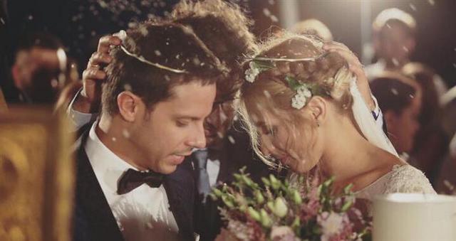 Η πρώην του Μακαλιά συγκινημένη στο γάμο του! (φωτό)