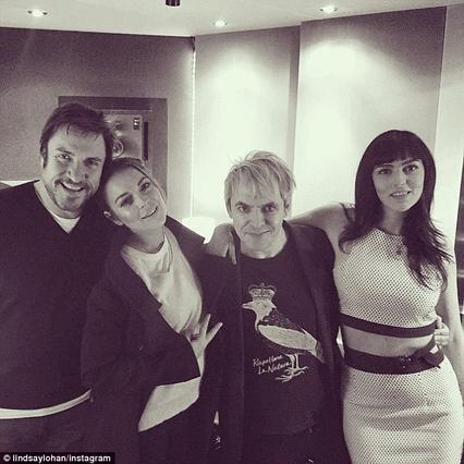 Δράμα: Οι Duran Duran δεν  παίζουν  τη Λίντσεϊ Λόχαν