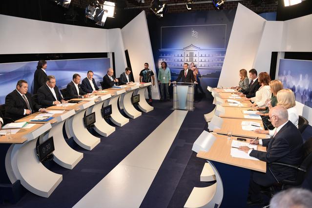 Ντιμπέιτ πολιτικών αρχηγών: Ποιο κανάλι κέρδισε τη μάχη της τηλεθέασης