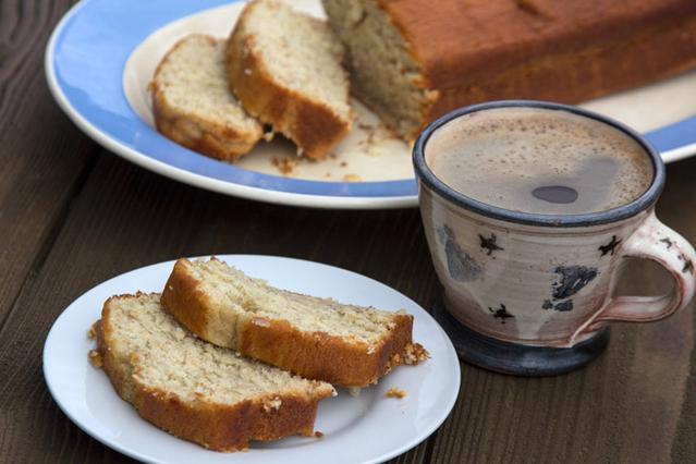 Εύκολο κέικ με μπανάνες αλ Καρούζο