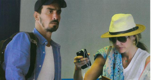Μπαλατσινού: Νέες φωτό με το νεαρό σύντροφό της [& την πανάκριβη βαλίτσα]