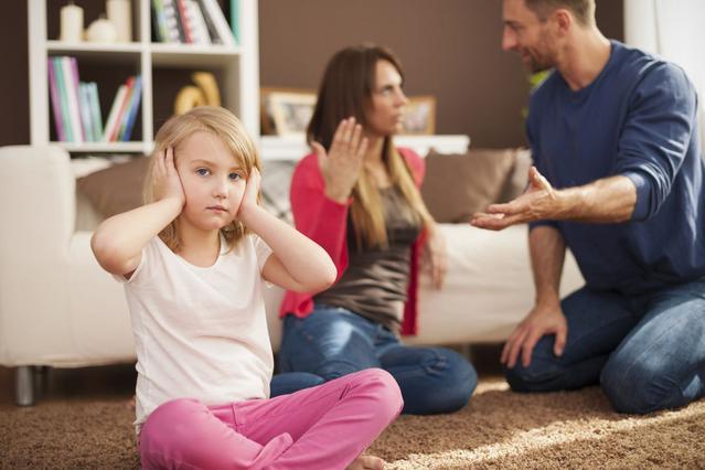 Όταν η μαμά κι ο μπαμπάς χωρίζουν