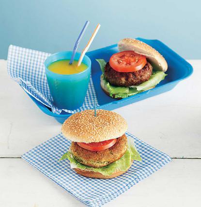 Μπέργκερ (Burger) με ρεβίθια