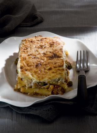 Παστίτσιο λαχανικών με ριγκατόνι