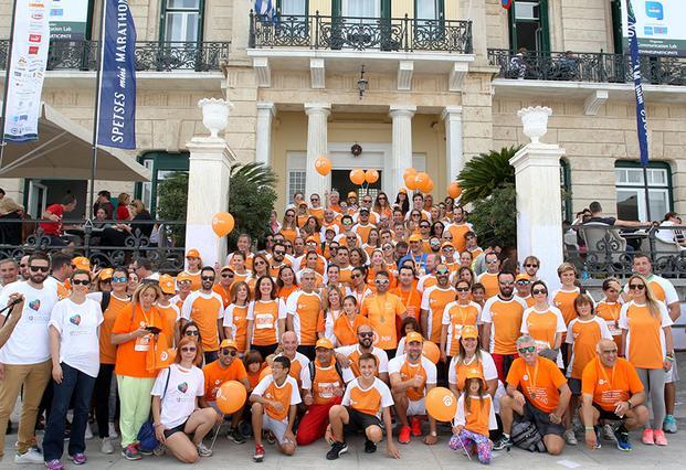 "<p>Η NN Running Team, η κορυφαία ομάδα της διοργάνωσης στην κατηγορία ""Corporate Running Team""</p>"