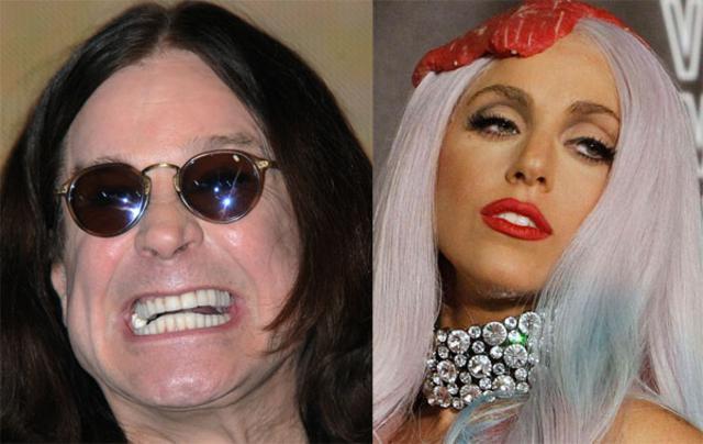 Το άνοιξε το στοματάκι του ο Όζι και τη στόλισε την Gaga