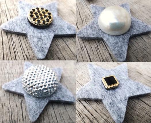 Τέλεια σκουλαρίκια για γιορτινές εμφανίσεις! Τσόχα και πολύτιμοι λίθοι!