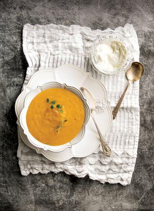 Βελουτέ σούπα καρότου - Ό,τι πρέπει για τα πρώτα κρύα του Φθινοπώρου