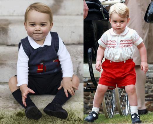 Έτσι θα είναι ο πρίγκιπας Γεώργιος στα 20, τα 40 και τα 60 του [photos & vds]