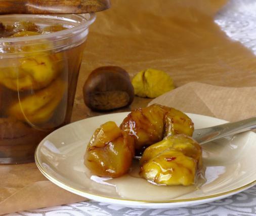 Kάστανο γλυκό του κουταλιού αλά Pandespani