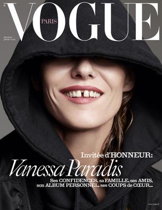 Χωρίς εσώρουχο στη Vogue η Βανέσα Παραντί [photos]